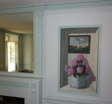 peinture décorative réchampi classique