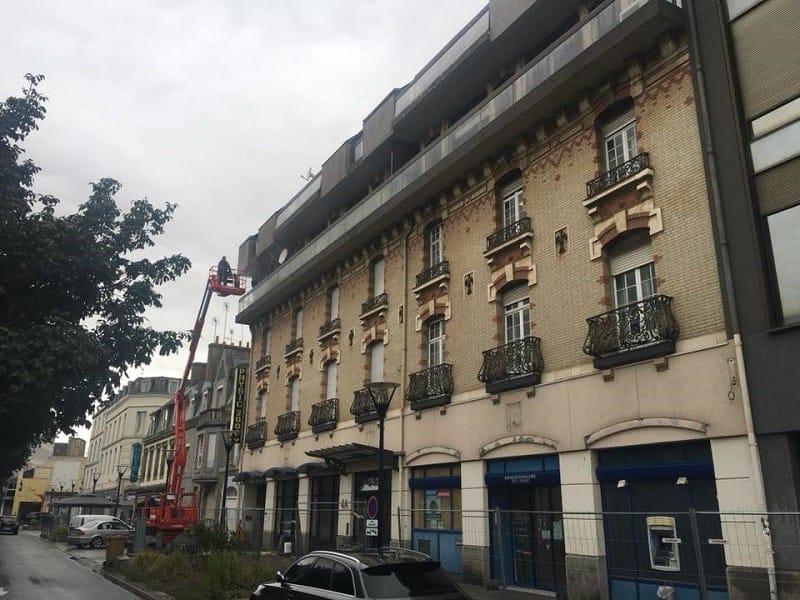 Ravalement – Résidence Sainte Barbe à Saint-Brieuc – Côtes d'Armor