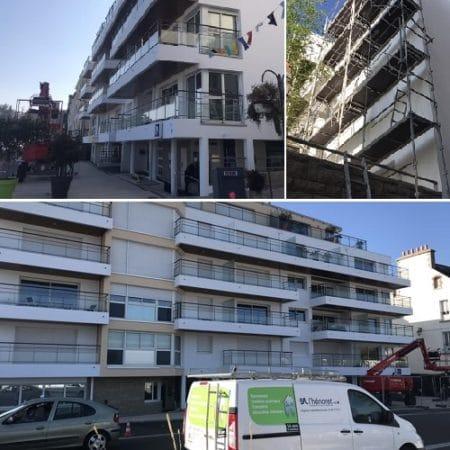 Ravalement et imperméabilisation – Saint Quay Portrieux