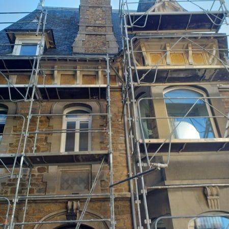 Ravalement d'une maison en pierres à Saint-Brieuc (22)