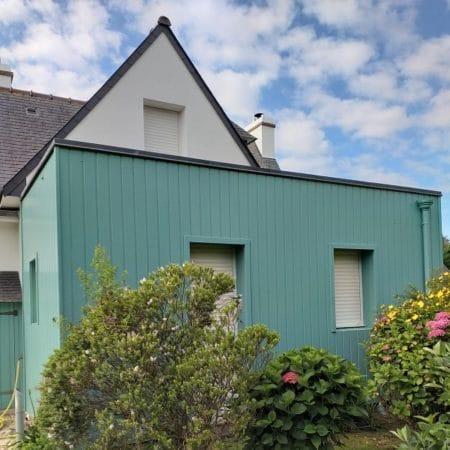 Ravalement de façade sur l'île de Bréhat – Côtes d'Armor